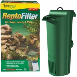 Tetrafauna ReptoFilter for Frogs, Newts & Turtles Image