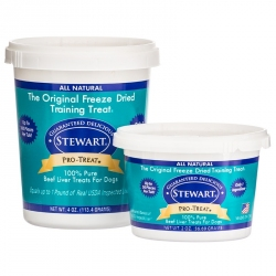 Stewart Pro-Treat Freeze Dried Beef Liver Treats Image