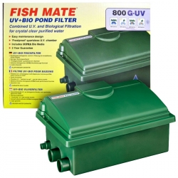 Fish Mate Gravity UV+Bio Pond Filter Image