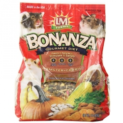 LM Animal Farms Bonanza Gourmet Diet- Hamster & Gerbil Food Image