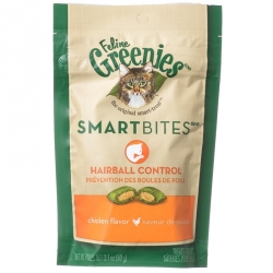 Greenies SmartBites Hairball Control Cat Treats - Chicken Flavor Image
