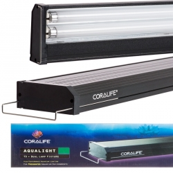 Coralife Aqualight T5 Dual Fluorescent Lamp Fixture - Freshwater Aquariums Image