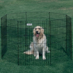 Precision Pet Ultimate Exercise Pen - UXP Model Image