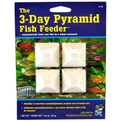 API 3-Day Pyramid Fish Feeder Image