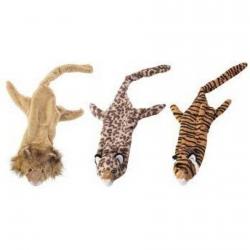 Skinneeez Plush Jungle Cat Dog Toy Image