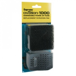 Ovation Replacement Filter Media - Filter Sponge & Carbon Cartridge Image