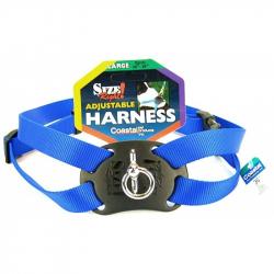 Coastal Pet Size Right Nylon Adjustable Pet Harness - Blue Image