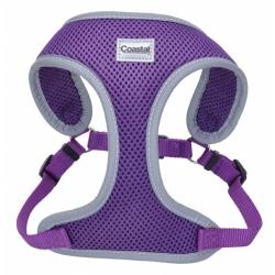 Coastal Pet Comfort Soft Reflective Wrap Adjustable Dog Harness - Purple Image