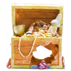 GloFish Treasure Chest Ornament Image