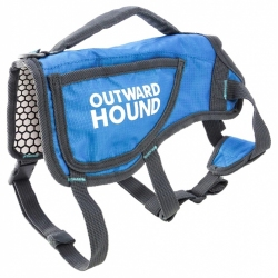 Outward Hound Thermovest Dog Vest - Blue Image