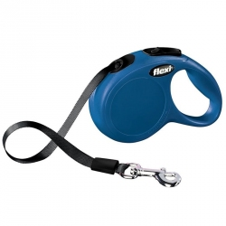 Flexi New Classic Retractable Tape Leash - Blue Image