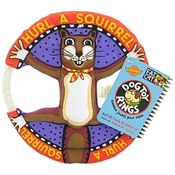 Fat Cat Hurl A Squirrel Dog Toy Rings Image