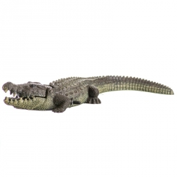 Exotic Environments Bubbling Alligator Aquarium Ornament Image