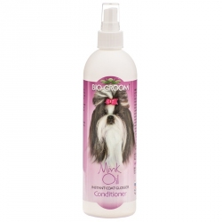 Bio Groom Mink Oil Instant Coat Glosser Conditioner Plus Sunshield Image