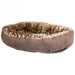 Aspen Pet Round Pet Bedding - Animal Print Image