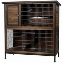Kaytee Premium Two Story Rabbit Hutch Image