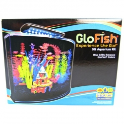 GloFish Aquarium Kit with LED Light Image