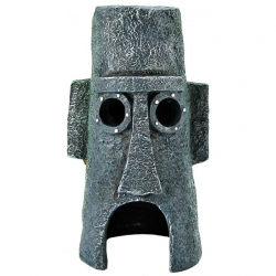 Penn Plax Spongebob Squidward Island Home Ornament Image