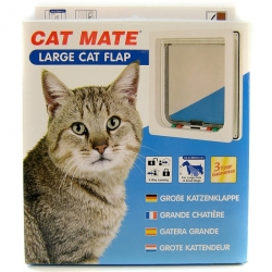 Cat Mate 4-Way Locking Self Lining Door - Large Cat/Small Dog Image