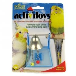 JW Insight Bell Bird Toy Image