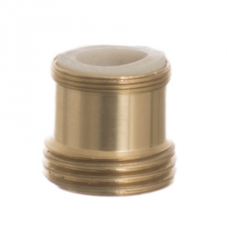 Python No Spill Clean & Fill Standard Brass Adapter Image