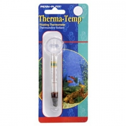 Penn Plax Therma-Temp Floating Thermometer with Suction Cup Image