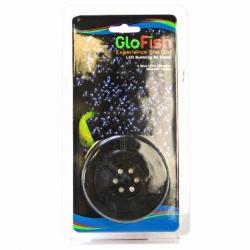 GloFish LED Bubbling Air Stone with 6 Blue LEDs Image