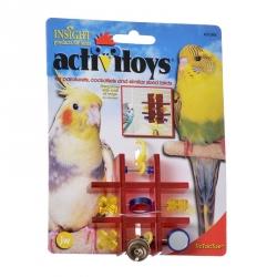 JW Insight Tic Tac Toe Bird Toy Image
