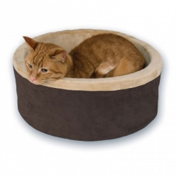 K&H Thermo-Kitty Bed - Mocha Image