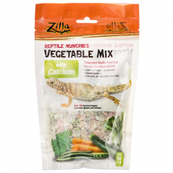 Zilla Reptile Munchies - Vegetable Mix with Calcium Image