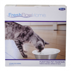 Petmate Fresh Flow Home Purifying Pet Fountain Image