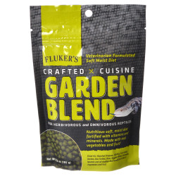 Flukers Crafted Cuisine Garden Blend Reptile Diet Image
