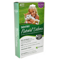 Sentry Natural Defense Flea and Tick Squeeze-On for Cats and Kittens Image