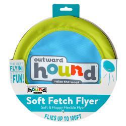 Outward Hound Soft Fetch Flyer Dog Toy Image