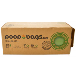 PoopBags Single Bulk Roll Recycled Bags - Unscented Image