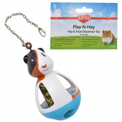 Kaytee Play-N-Hay Hay & Treat Dispenser Guinea Pig Toy Image
