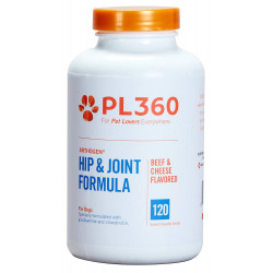 PL360 Arthogen Hip & Joint Formula Chewables - Beef & Cheese Image