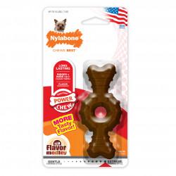 Nylabone DuraChew Power Chew Textured Ring Bone Dog Toy - Flavor Medley Image