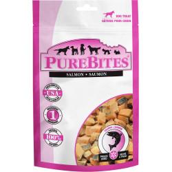 PureBites Salmon Freeze Dried Dog Treats Image