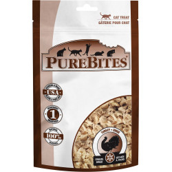PureBites Turkey Freeze Dried Cat Treats Image