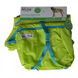 Outward Hound Crest Stone Explore Pack for Dogs - Green Image
