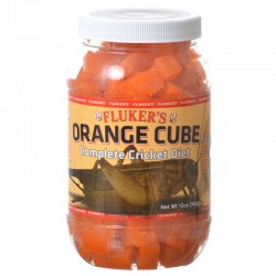 Flukers Orange Cube Complete Cricket Diet Image