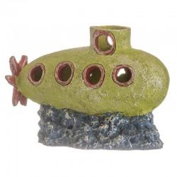 GloFish Submarine Aquarium Ornament Image