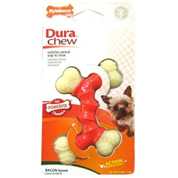 Nylabone Dura Chew Double Bone - Bacon Flavor Image