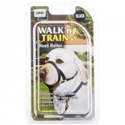 Coastal Pet Walk'n Train Head Halter - Black Image