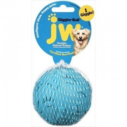 JW Pet Giggler Bouncing Dog Toy Image