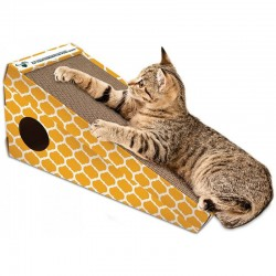 OurPets Cosmic Catnip Alpine Climb Incline Cat Scratcher Image