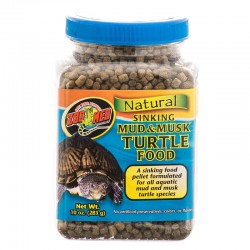 Zoo Med Natural Sinking Mud & Musk Turtle Food Image