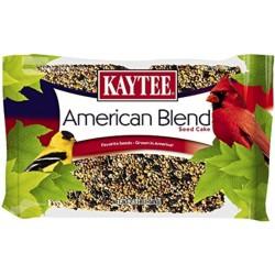 Kaytee American Blend Seed Cake with Favorite Seeds Grown In America For Wild Birds  Image