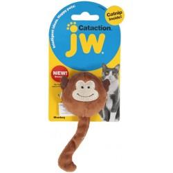 JW Pet Cataction Catnip Plush Monkey Cat Toy  Image
